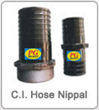 C.I. Hose Nipple Connector